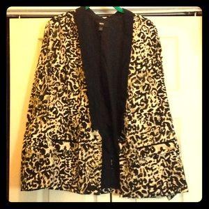 Mossimo leopard print jacket